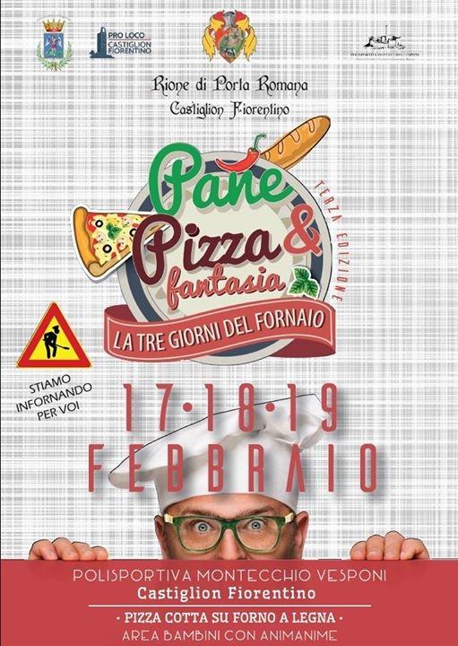 'Pane pizza e fantasia' a Castiglion Fiorentino