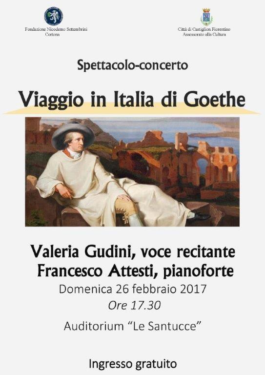 Concerto - spettacolo con Valeria Gudini e Francesco Attesti a Castiglion Fiorentino