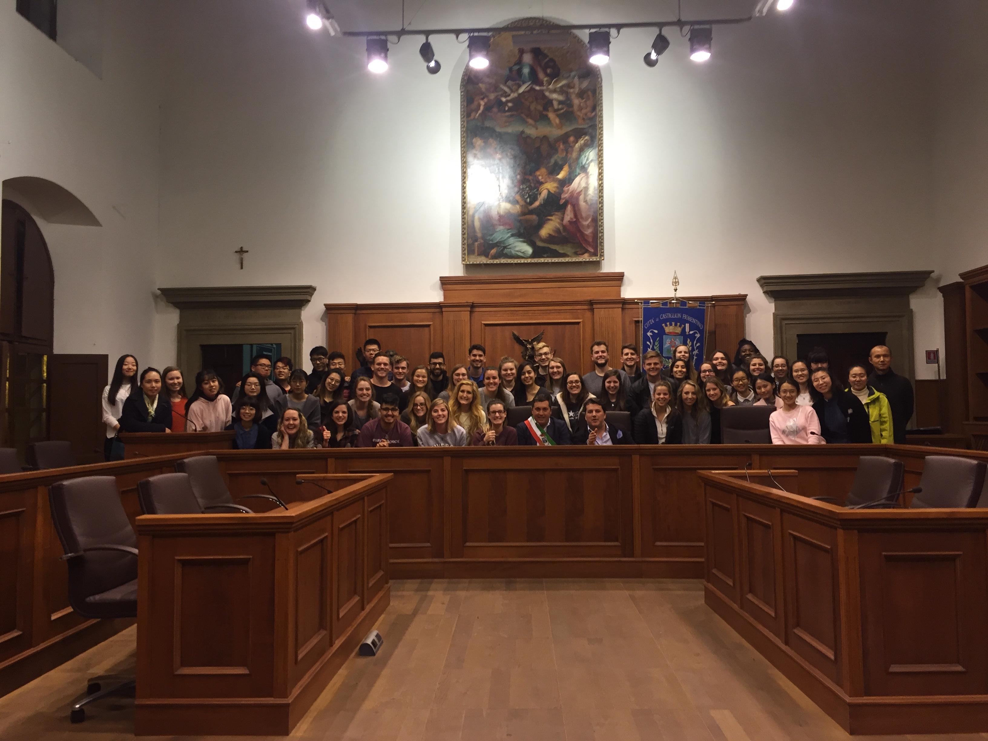 Studenti americani e cinesi ospiti a Castiglion Fiorentino