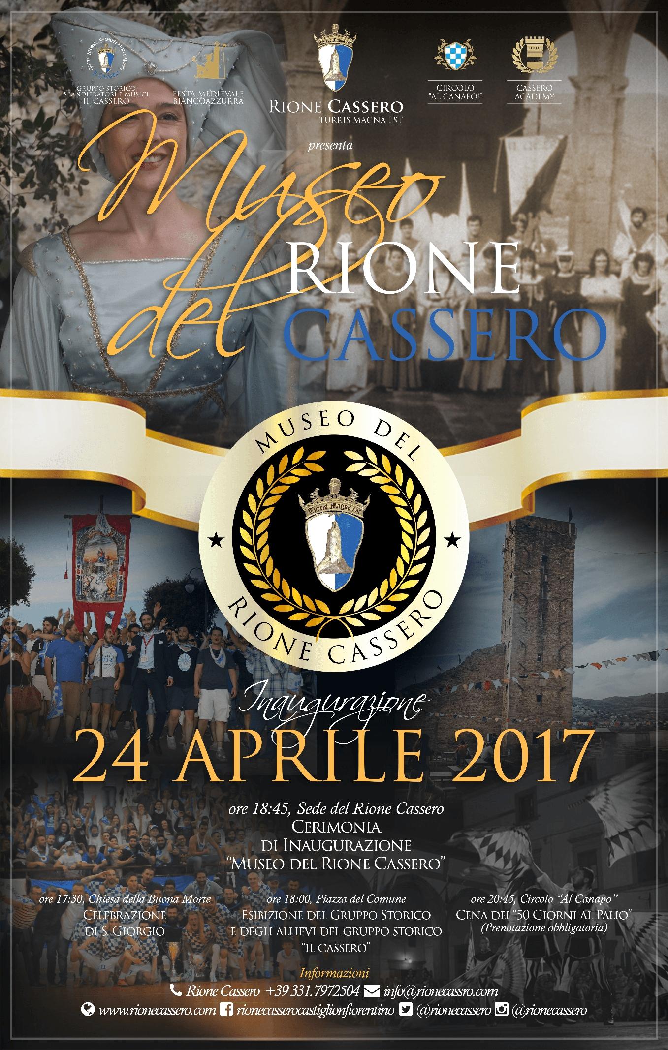 Il Rione Cassero celebra la sua storia con un Museo