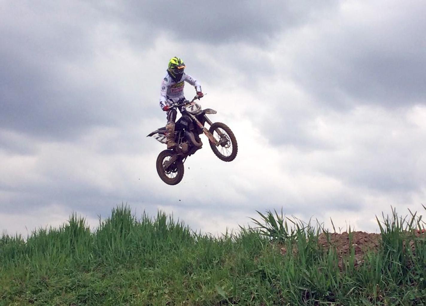 Steels Motocross al comando del campionato regionale con Morgan Bennati