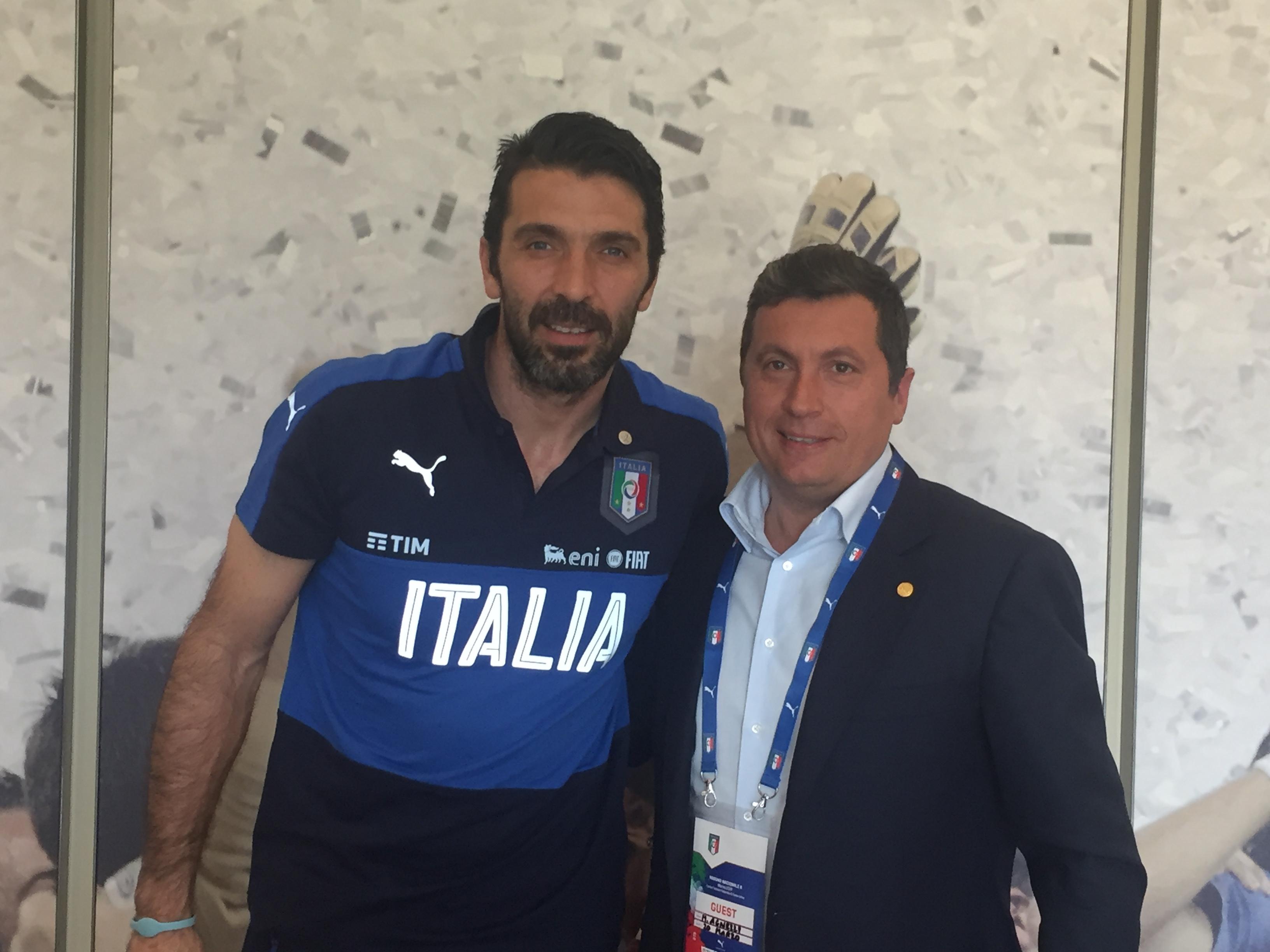 Consegnato a Gianluigi Buffon il premio