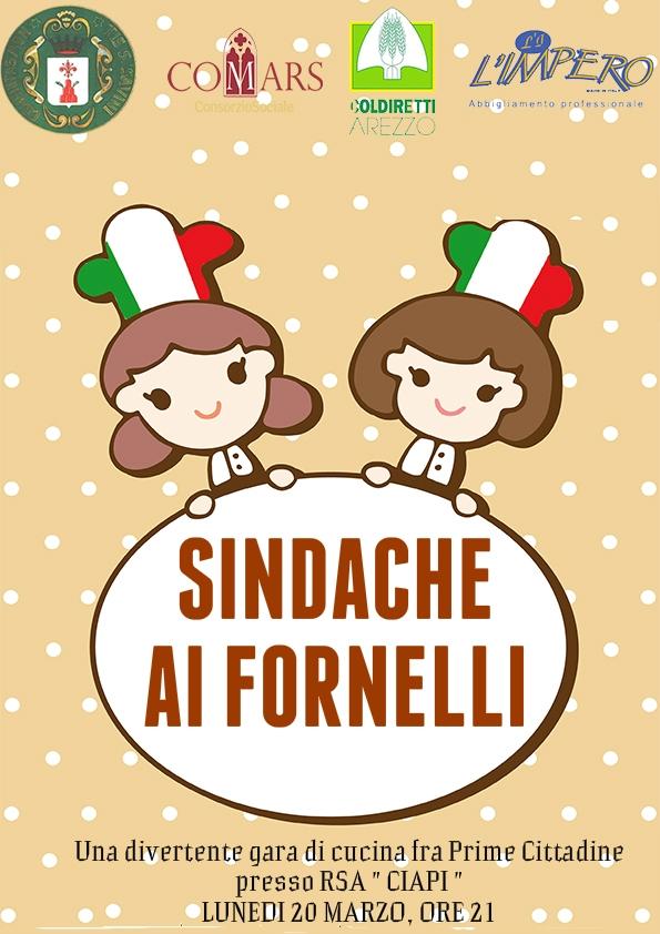 Sindache ai Fornelli, gara culinaria fra prime cittadine a Monte San Savino