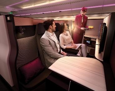 QATAR AIRWAYS SVELA QSUITE  UNA NUOVA RIVOLUZIONARIA ESPERIENZA PER LA BUSINESS CLASS