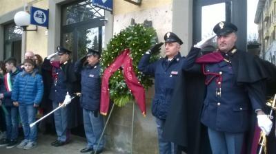 Cerimonia in ricordo di Emanuele Petri a Castiglion Fiorentino