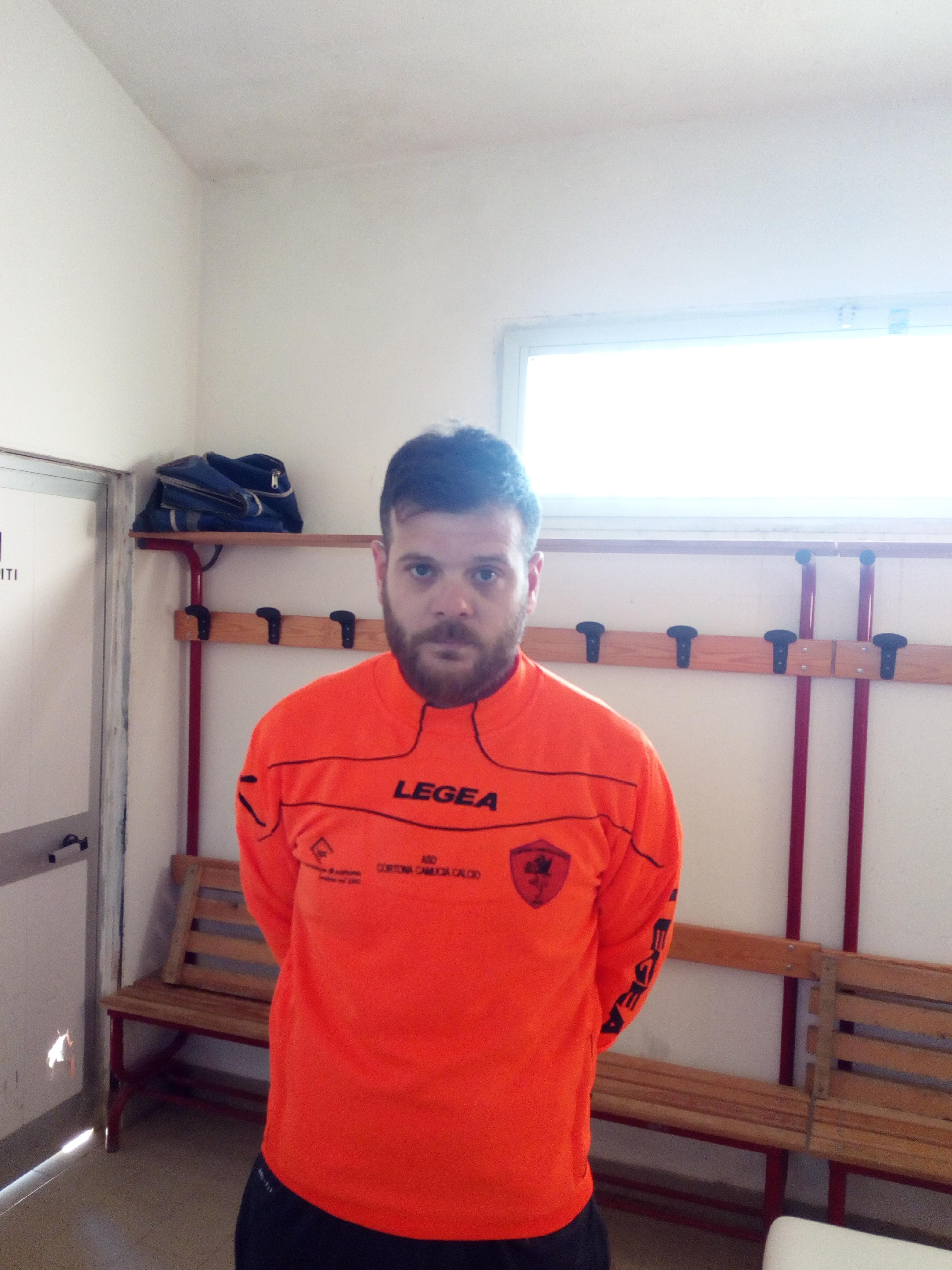 Dopo i 3 punti contro l'Ambra Mister Testini pronto per il rush finale