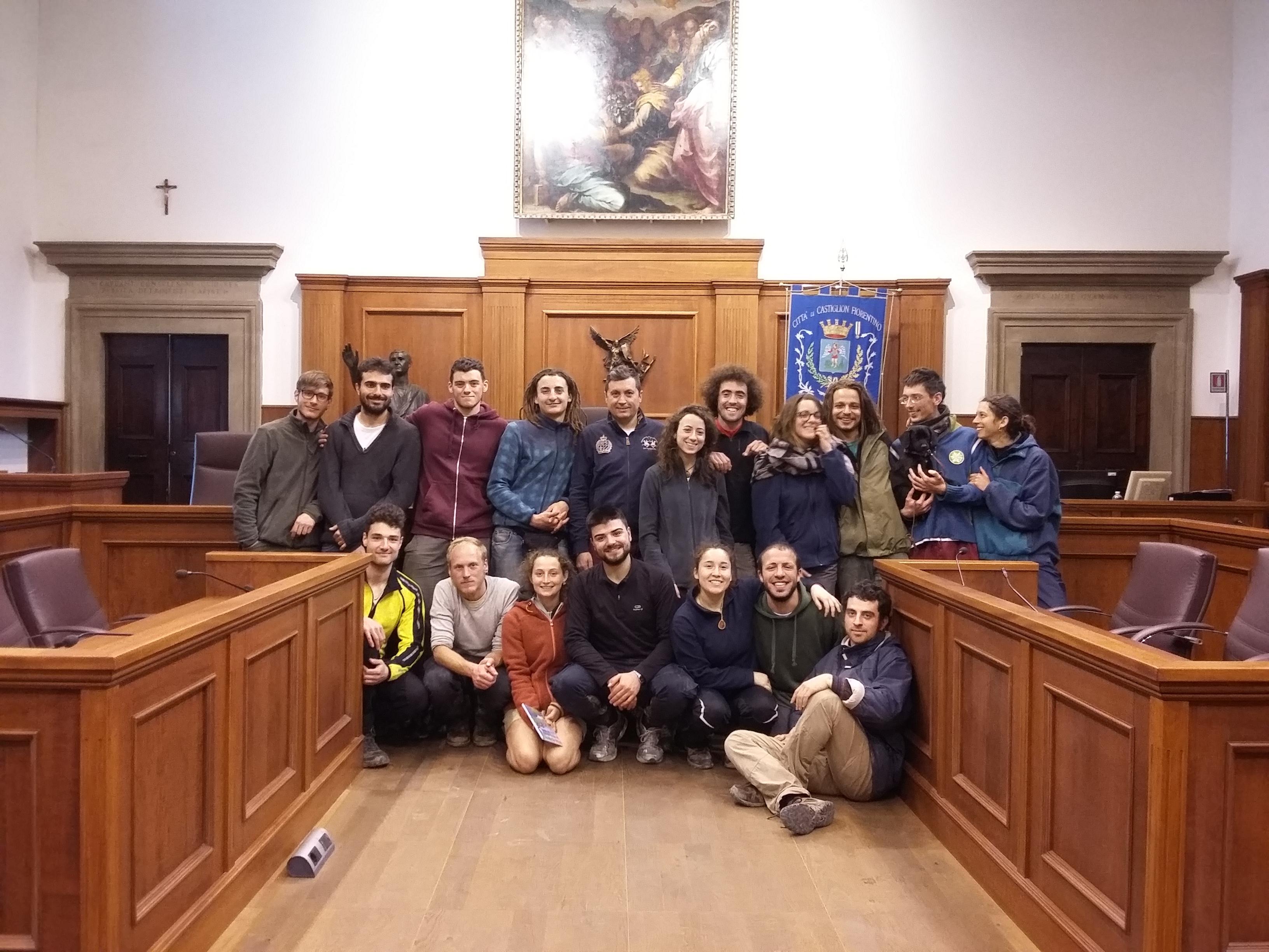 Il cammino degli studenti universitari forestali passa per Castiglion Fiorentino