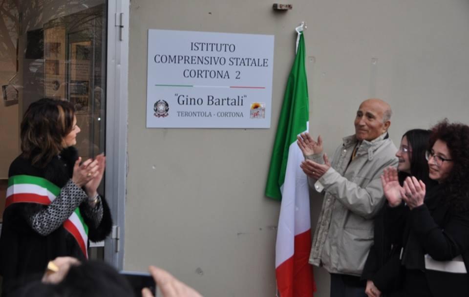 La scuola di Terontola intitolata a Gino Bartali