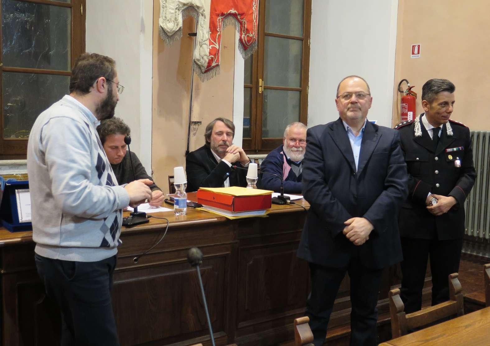 Montepulciano: premiati il Luogotenente Andreozzi e il Gruppo Sbandieratori e Tamburini