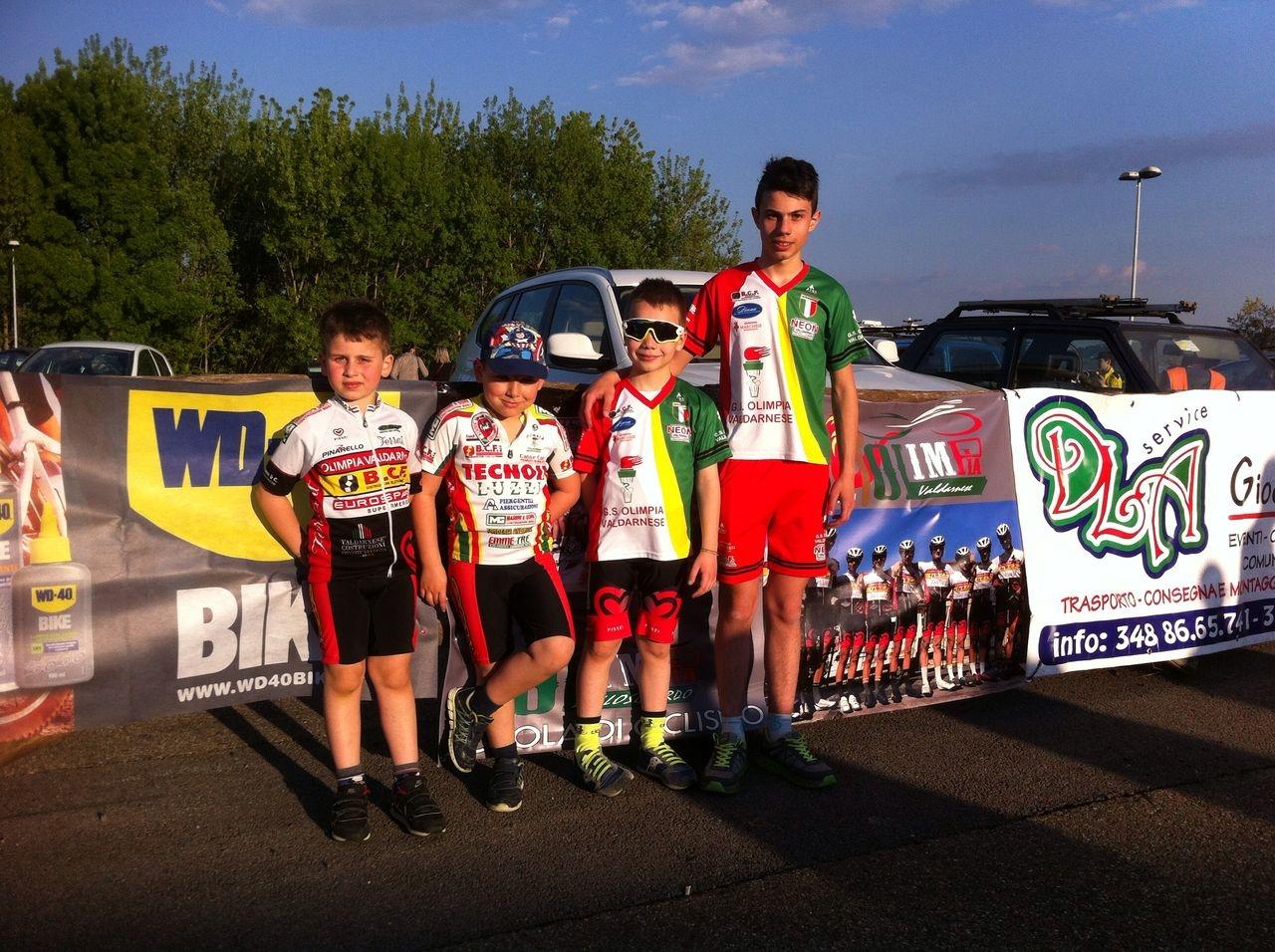 Ciclismo giovanissimi: riparte la stagione con la Valdichiana subito in evidenza