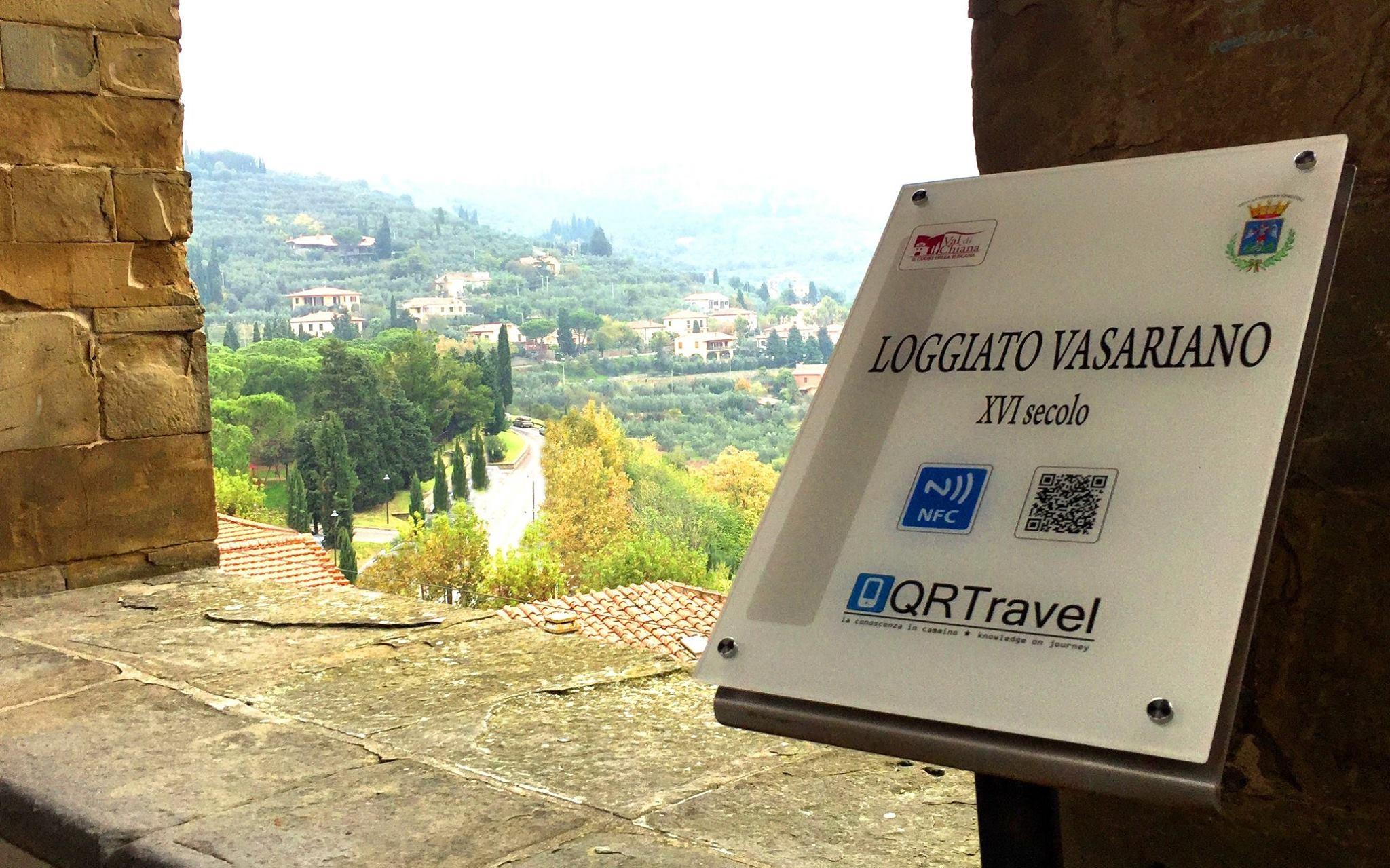 QR Travel, 22 postazioni a Castiglion Fiorentino