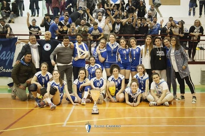 Bis per il Rione Cassero al Torneo 'Palio in Volley'