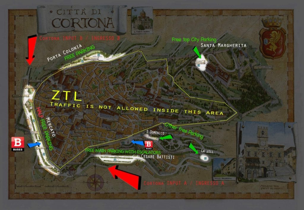 ZTL a Cortona, sfugge un piccolo dettaglio...