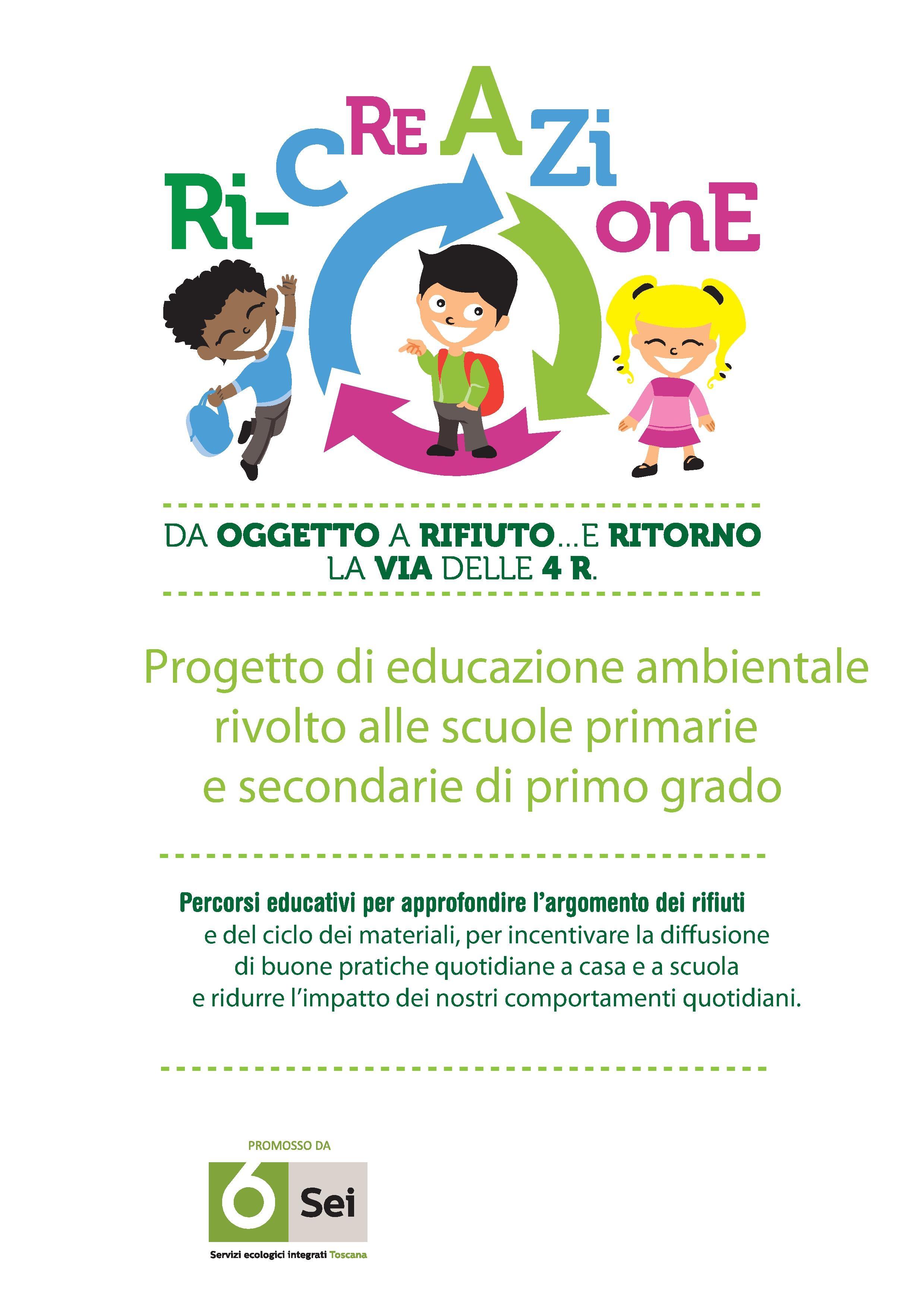 Ri-creazione, progetto di educazione ambientale nelle scuole castiglionesi