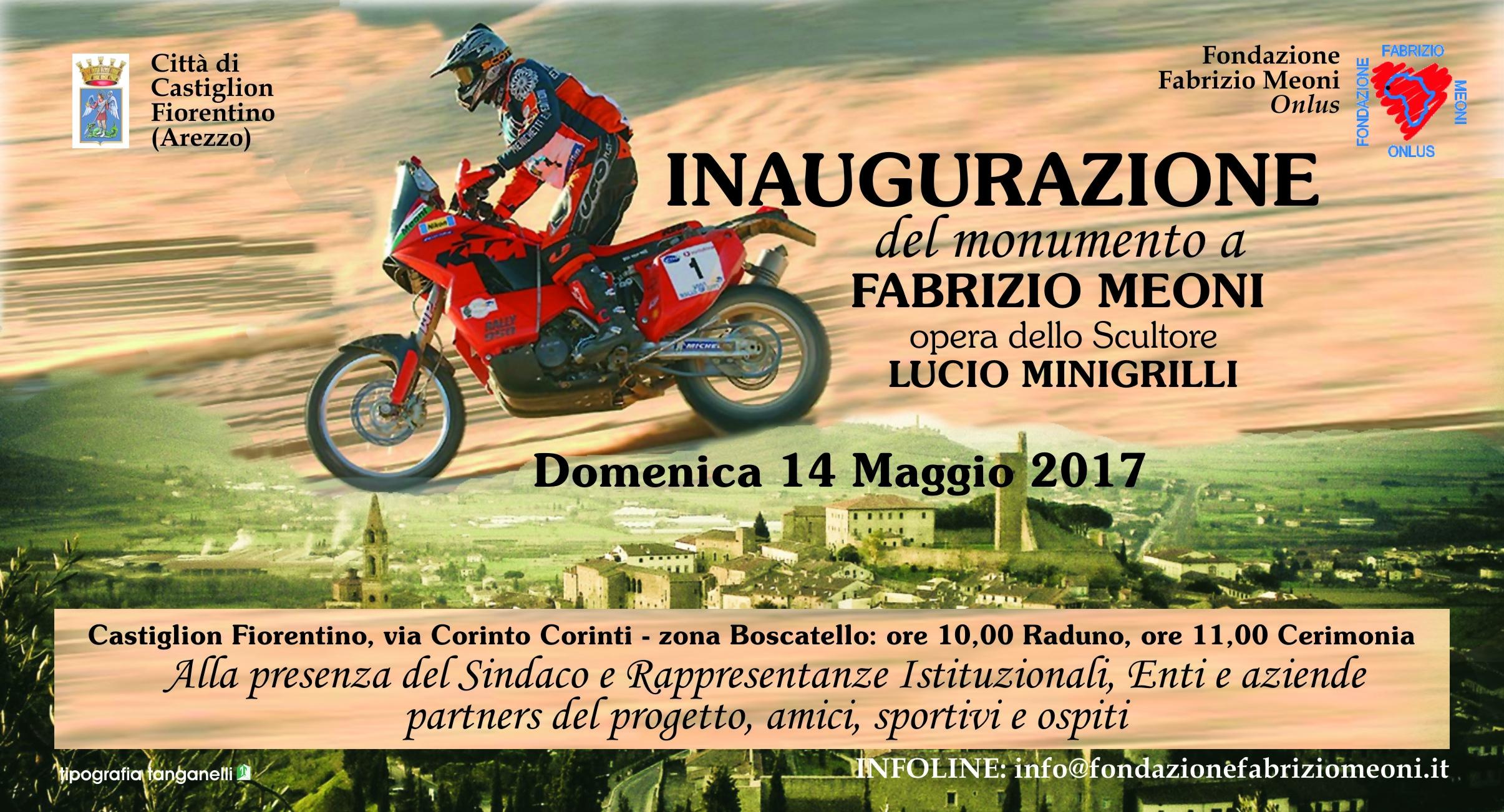 Monumento a Fabrizio Meoni, il 14 Maggio l'inaugurazione