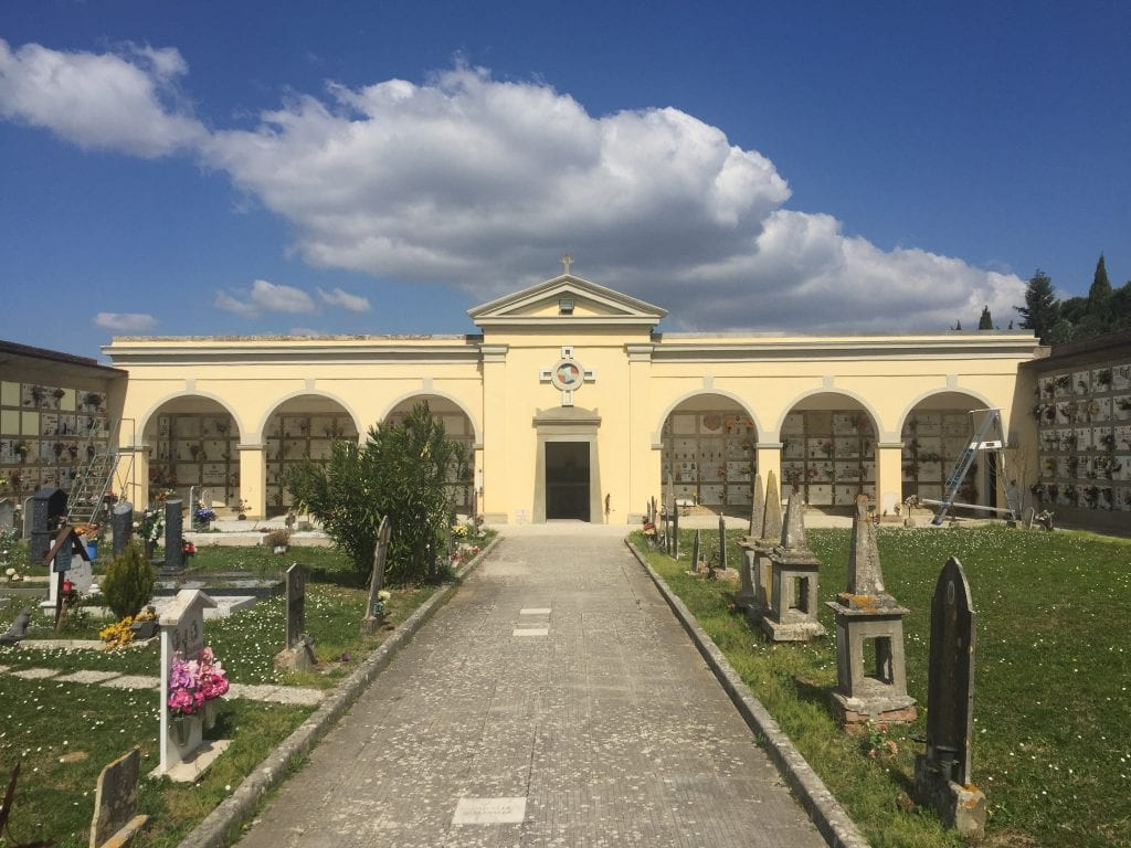 Cimitero di Manciano, terminati i lavori per la messa in sicurezza