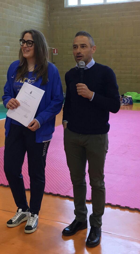 Sara Viti campionessa italiana di taekwondo