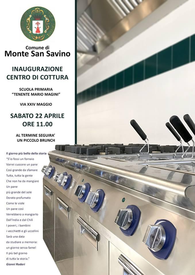 Il centro cottura per le scuole torna a Monte San Savino, sabato l'inaugurazione