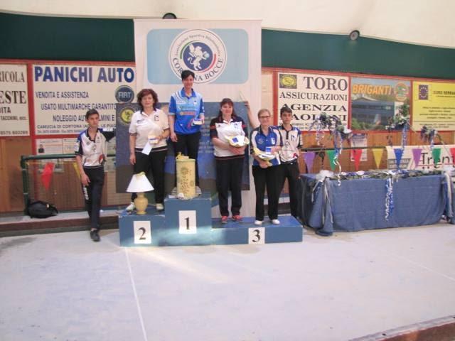 Bocce, i risultati del Trofeo Città di Cortona