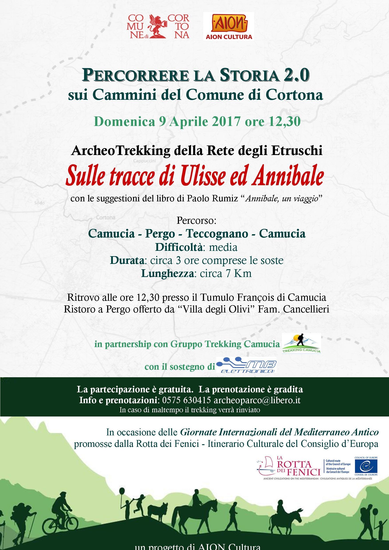 Percorrere la storia 2.0...sui cammini del Comune di Cortona