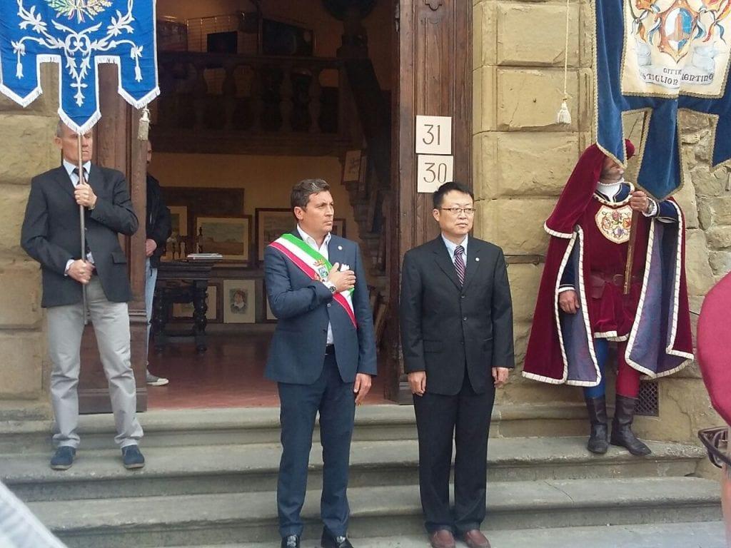 Inaugurato il Maggio Castiglionese col vice-console cinese Yan Jinlin