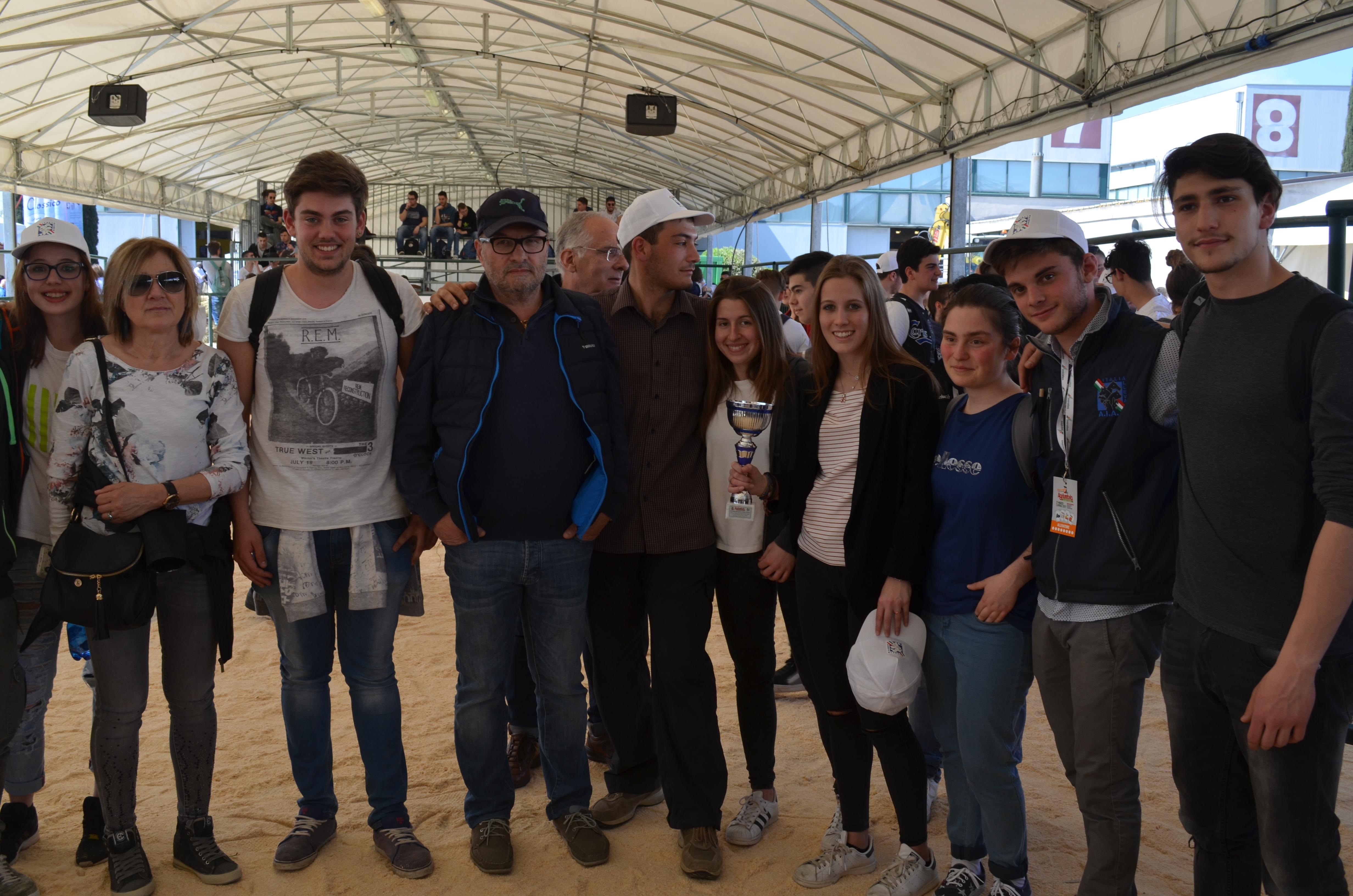 Gli alunni del Vegni vincono la gara fra Istituti Agrari a Bastia Umbra