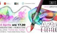 'Arte e lettere', mostra - concorso alla galleria Del Furia