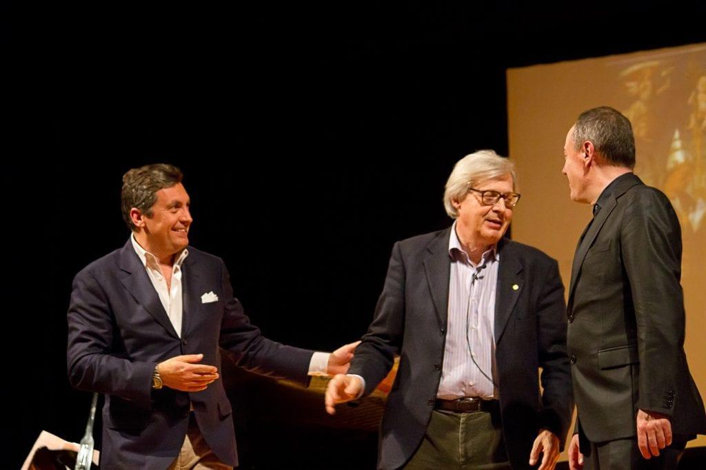 Tour 'in notturna' per Sgarbi a Castiglion Fiorentino