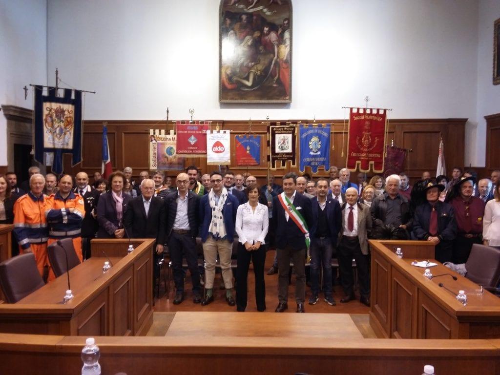 Il Prefetto Clara Vaccaro in visita a Castiglion Fiorentino