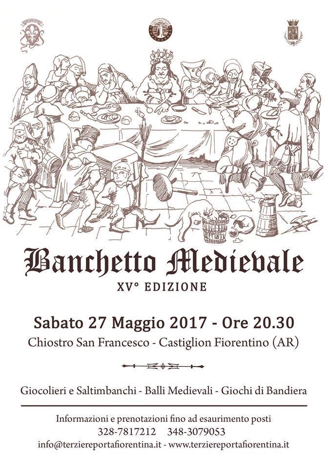 Banchetto Medievale del Terziere di Porta Fiorentina