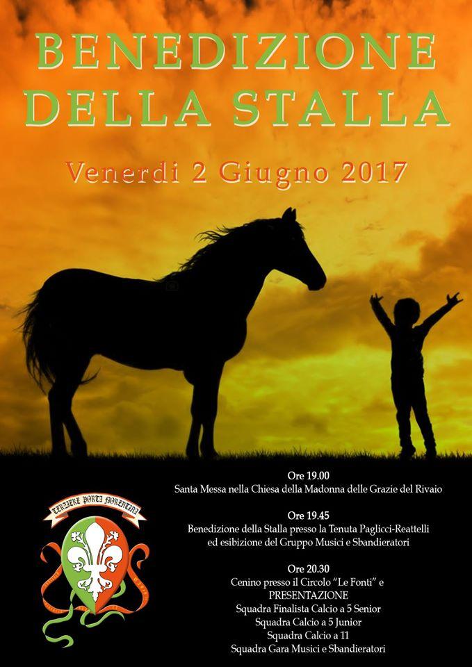 Benedizione della stalla, evento del Terziere Porta Fiorentina