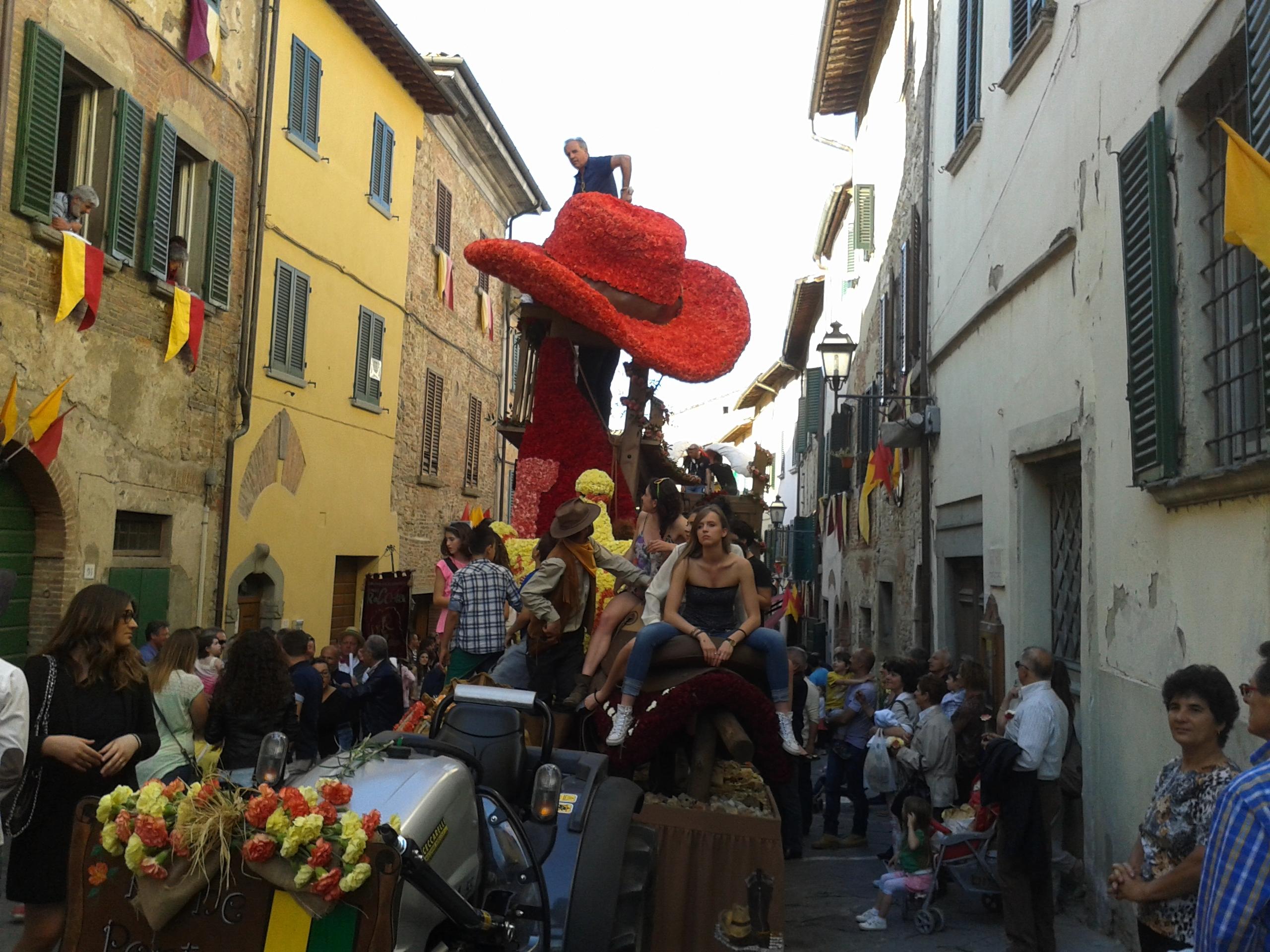 I carri della Maggiolata 2017 - Porta San Giovanni