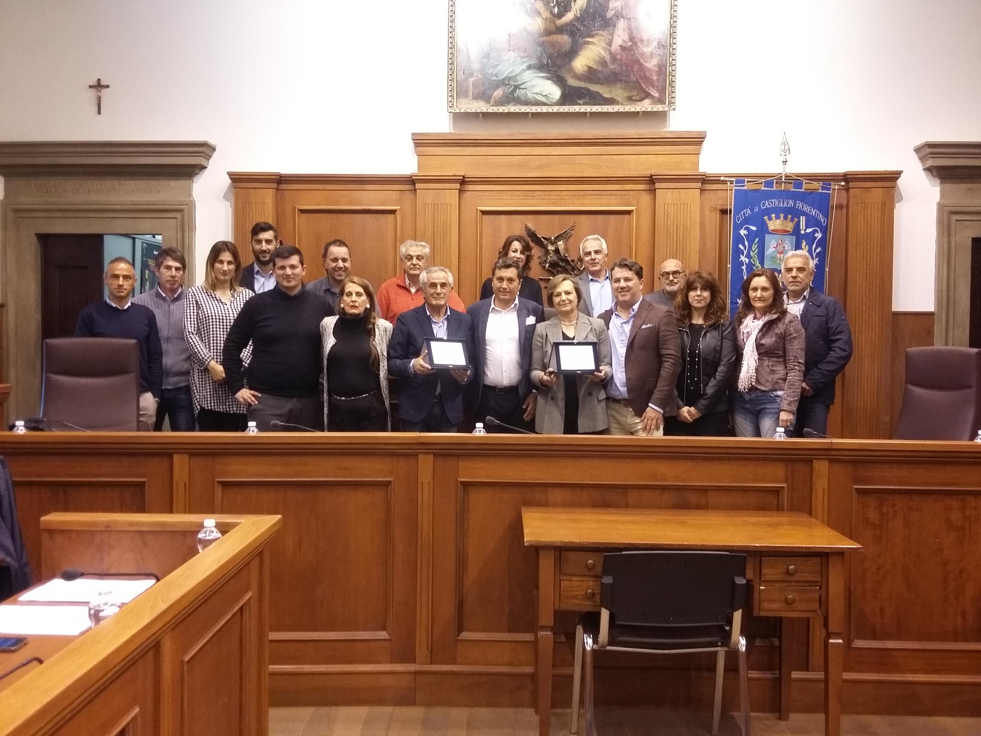 Castiglioni, il Consiglio saluta 3 dipendenti comunali che vanno in pensione
