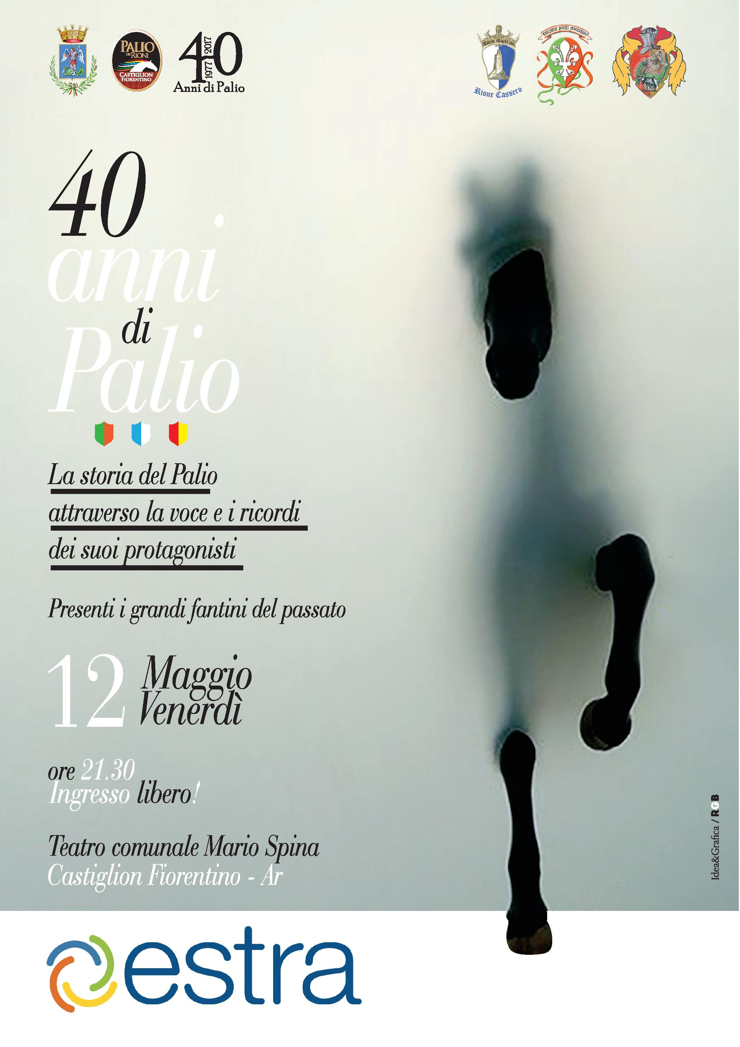 40 anni di Palio a Castiglioni, una serata amarcord allo Spina