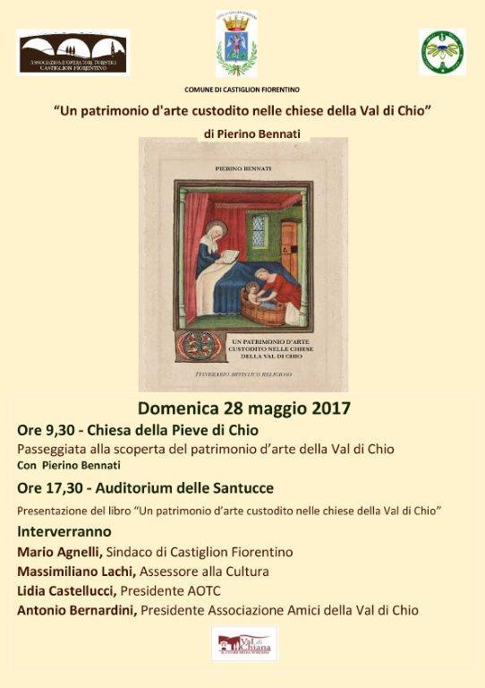 Un Patrimonio d'arte nelle Chiese della Val di Chio, Pierino Bennati presenta il suo libro