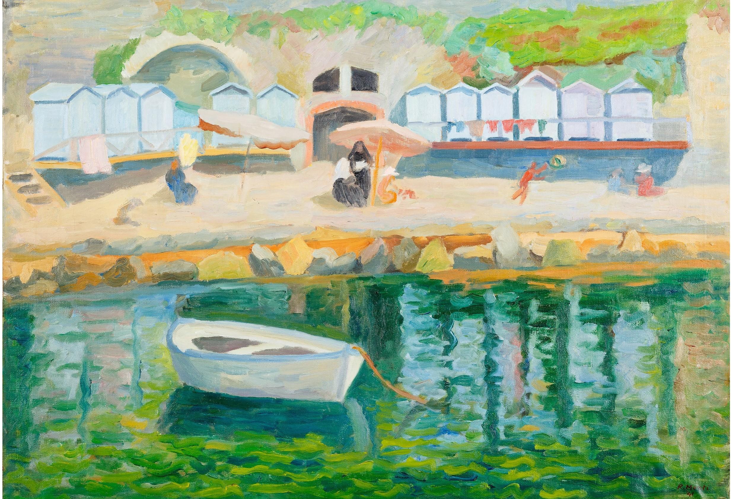 Dieci opere di Rolando Monti donate a Cortona, in mostra al MAEC