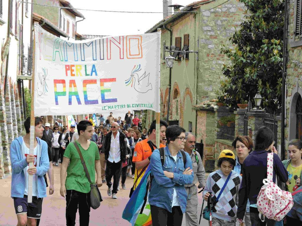 Sabato la Marcia per la Pace da Civitella a San Pancrazio