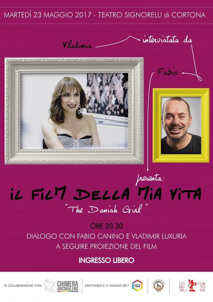 'Il film della mia vita', Vladimir Luxuria e Fabio Canino al Signorelli