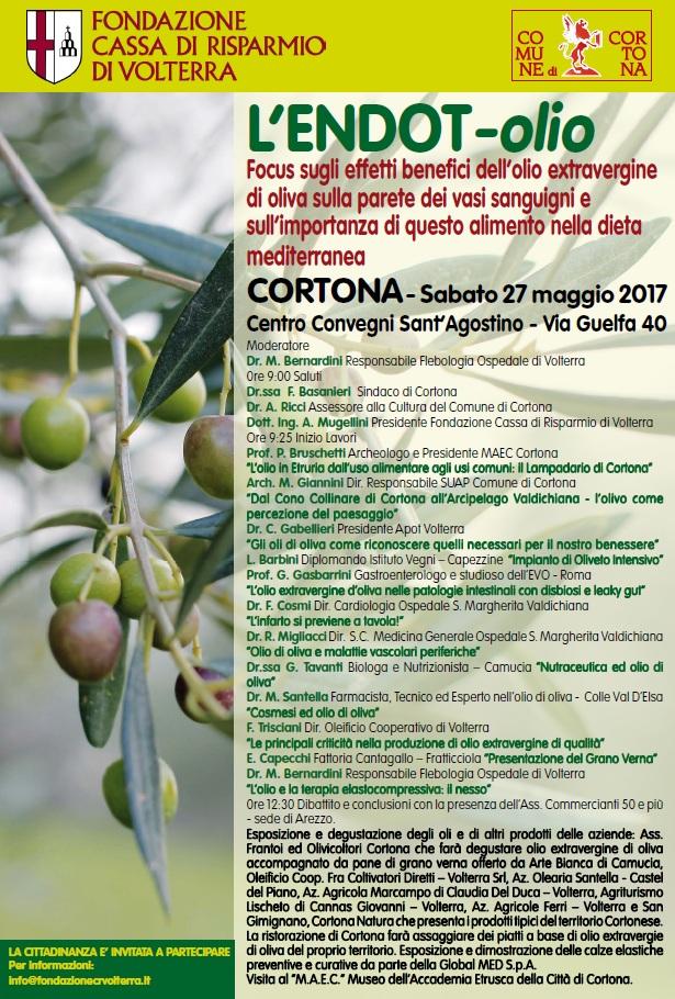 L'Endot-Olio, l'evento itinerante fa tappa a Cortona