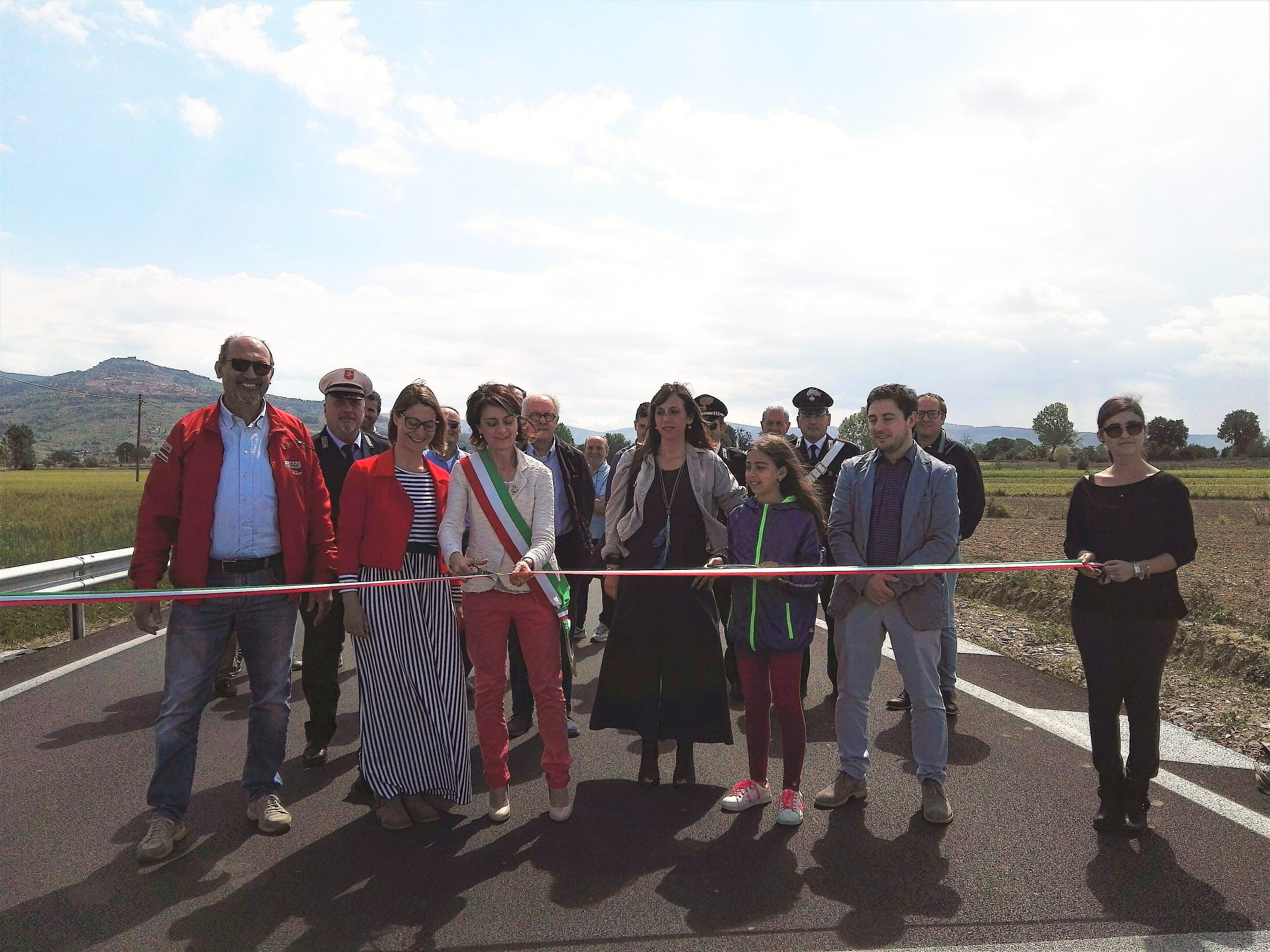Inaugurati i nuovi ponti sulla strada di Mezzafratta