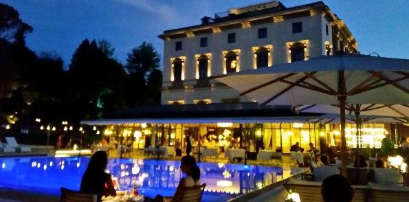 A Villa Cora torna la serata Pizza & Champagne