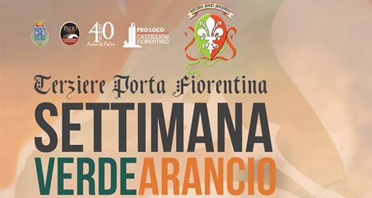 Settimana verde-arancio, tutti gli eventi di Porta Fiorentina nel pre-Palio