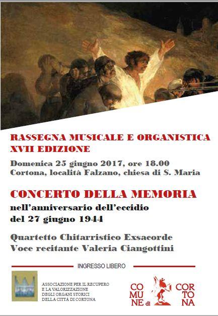 Concerto a Falzano per ricordare la strage del 1944