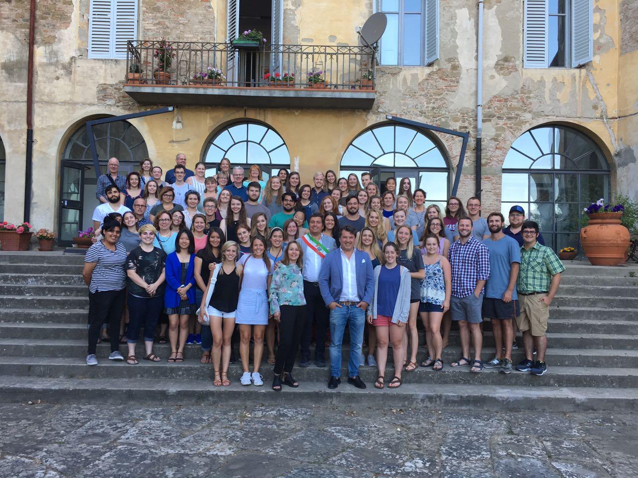 150 studenti americani al 'Santa Chiara' di Castiglion Fiorentino