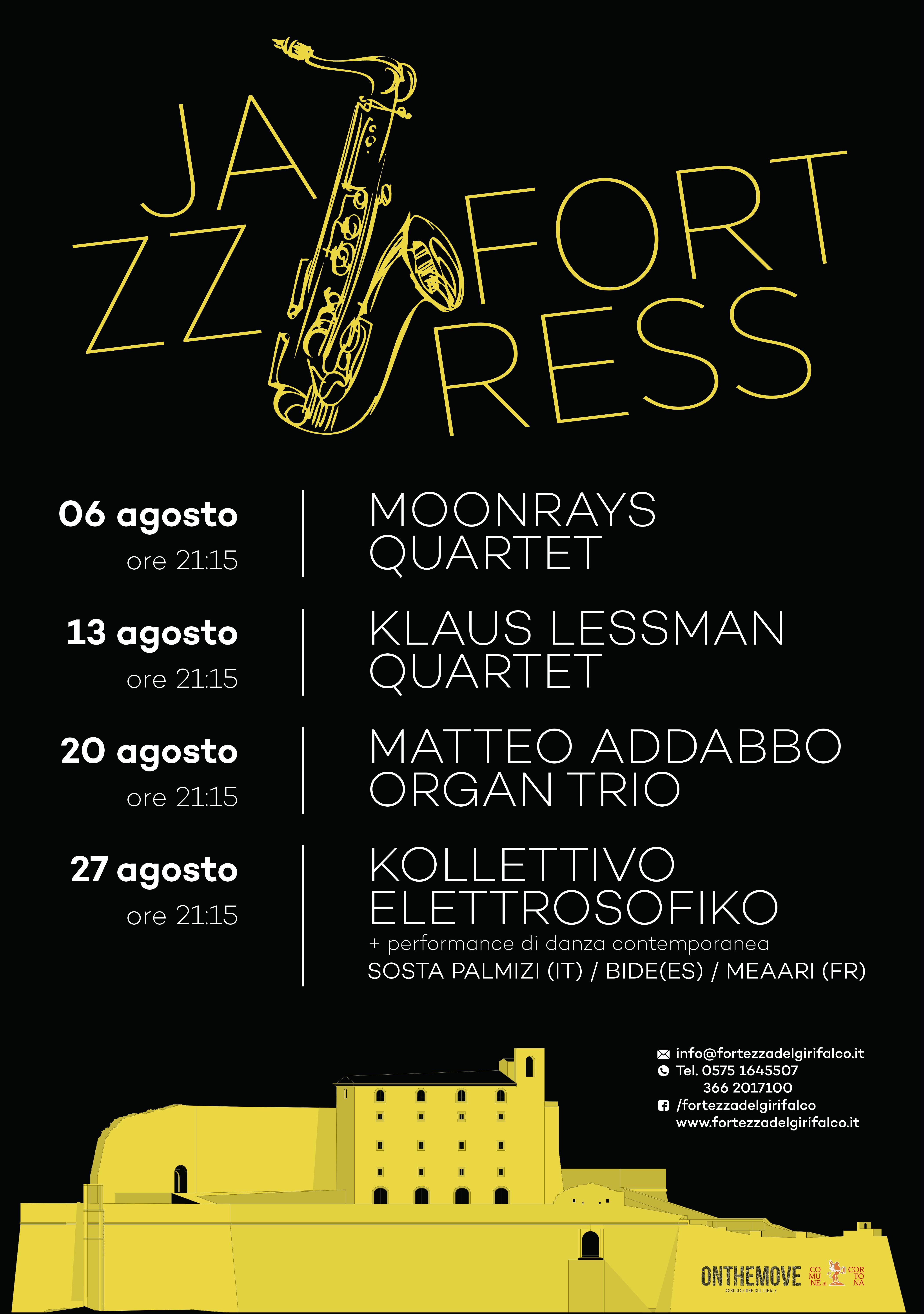 Jazz @ Fortress: al Girifalco 4 domeniche a tutto Jazz