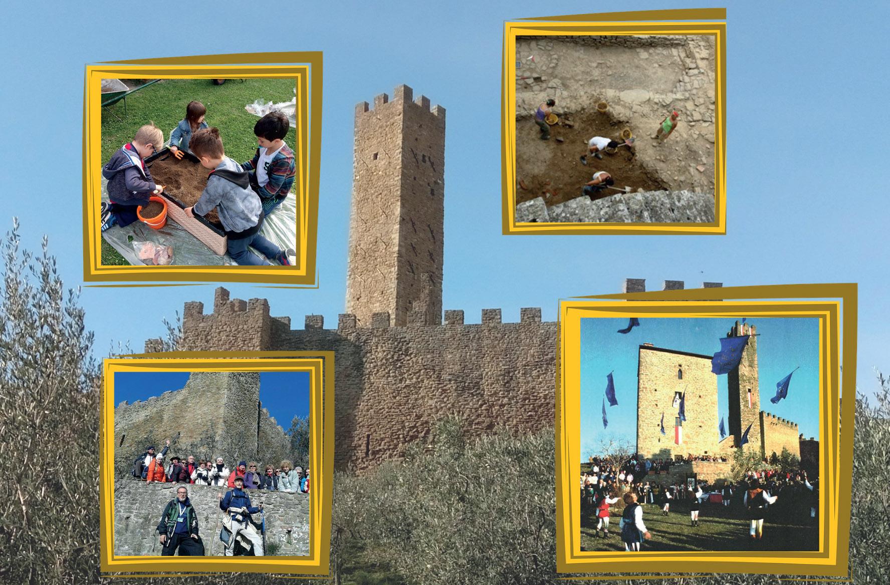Il Castello di Montecchio 'riapre' le porte, ecco le visite guidate