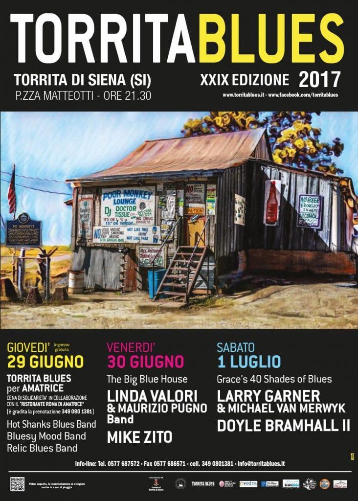 Torrita Blues Festival 2017: a great Blues experience...