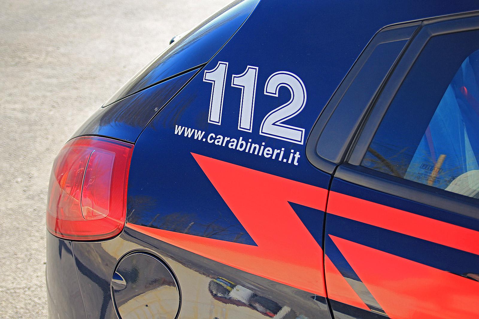 Rumeno denunciato dai Carabinieri, aveva in auto due