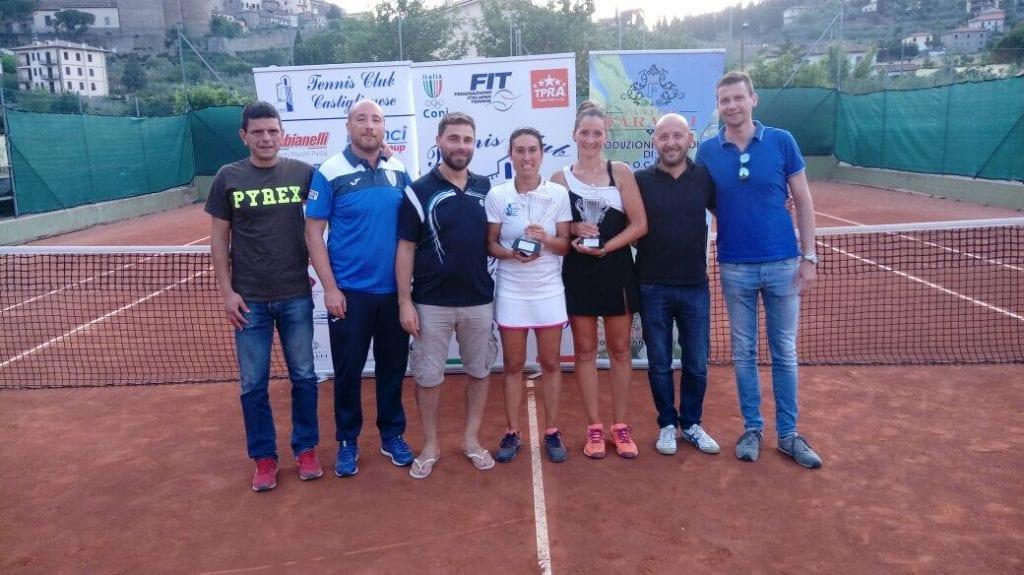 Daniele Bracciali e Marta Brandani vincitori al torneo Open del TC Castiglionese