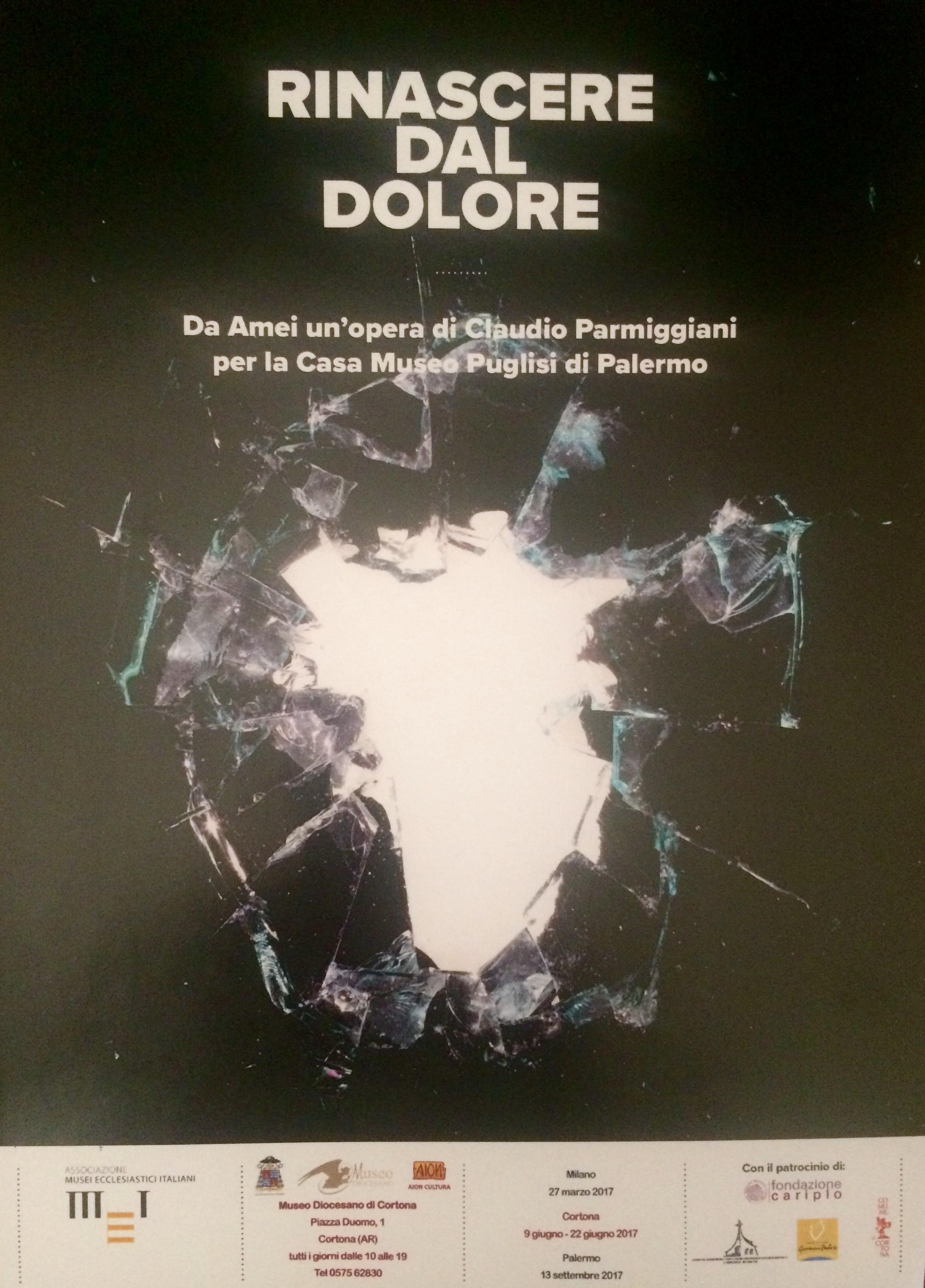 'Rinascere dal dolore', l'opera di Parmeggiani al Diocesano di Cortona